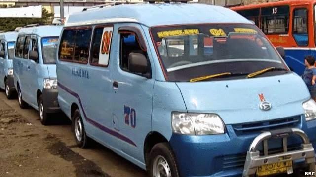 Mikrolet Transportasi Jakarta