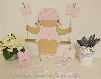 silueta infantil decorativa