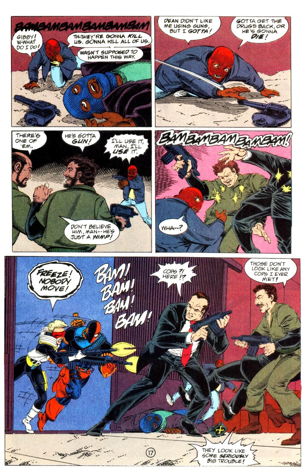 Deathstroke (1991) Issue #11 #16 - English 18