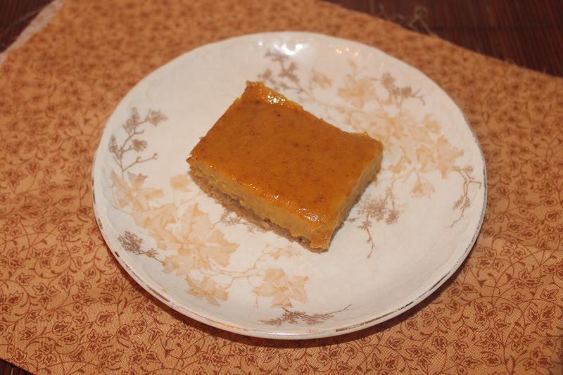 delicata squash and hazelnut shortbread bars for the shortbread 1