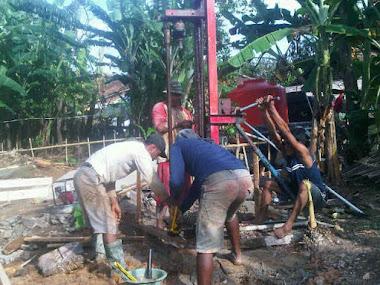 Pengeboran Air Untuk Pembangunan Istana Yatim, 14 Maret 2012