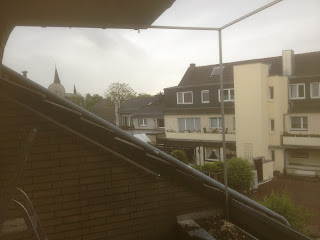 Katzennetz an Balkon in Meerbusch
