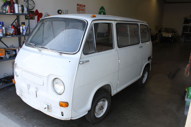 1969 subaru 360 micro van for sale not for sale. Black Bedroom Furniture Sets. Home Design Ideas