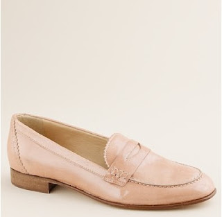 J.Crew leather loafer shoes