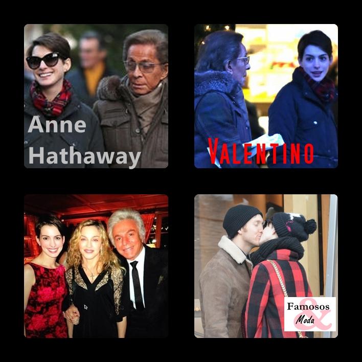 FAMOSOS Y MODA: Así Paso El Fin De Año Anne Hathaway