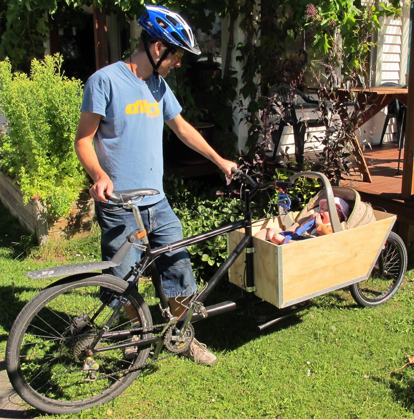 Felix S Projects The Homebuilt Bakfiets Cargo Bike