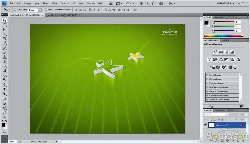 Adobe photoshop cs3 full version windows