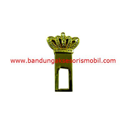 Colokan Safety Belt Stik Gold