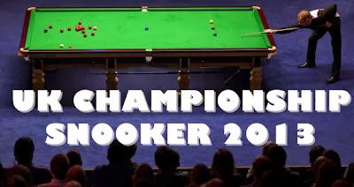 SNOOKER-Campeonato del Reino Unido 2013