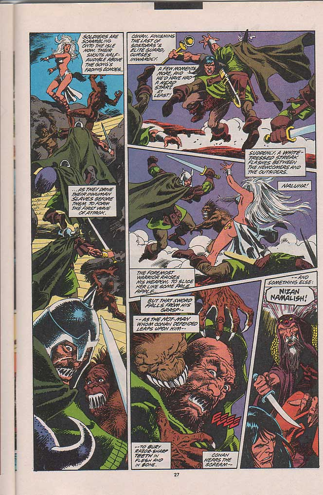 Conan the Barbarian (1970) Issue #263 #275 - English 19