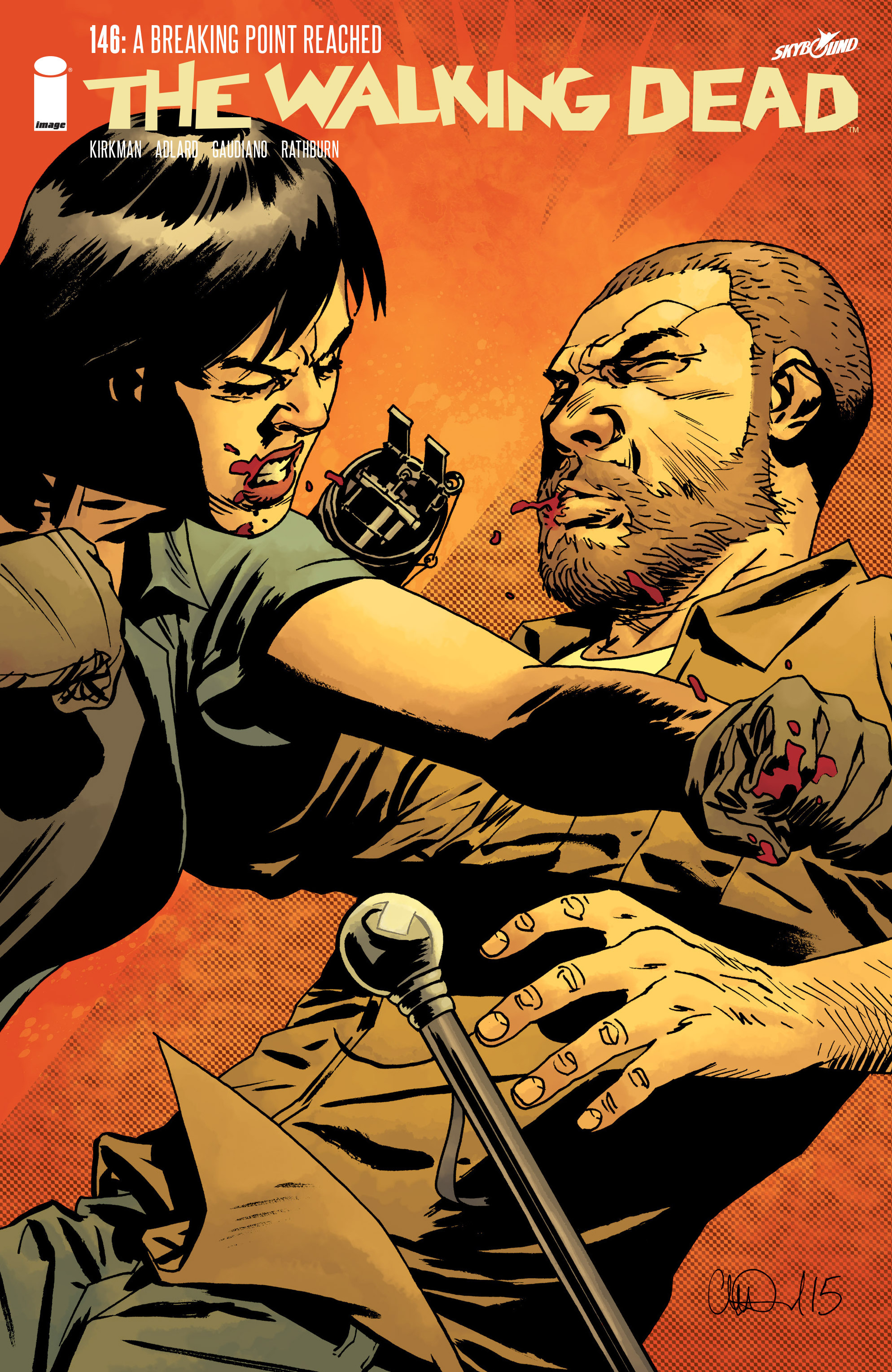 The Walking Dead 146 Page 1