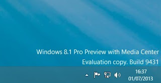 Upgrade Windows 8.1 Preview Ke Windows Media Center
