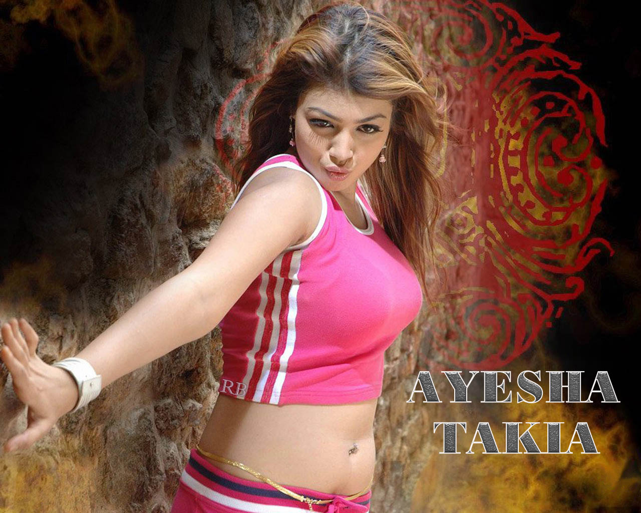 Photo Collection Ayesha Takia Hot Navel