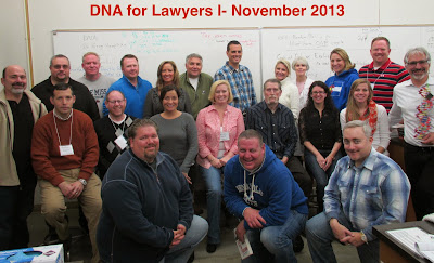 Deandra Grant Completes DNA for Lawyers Seminar