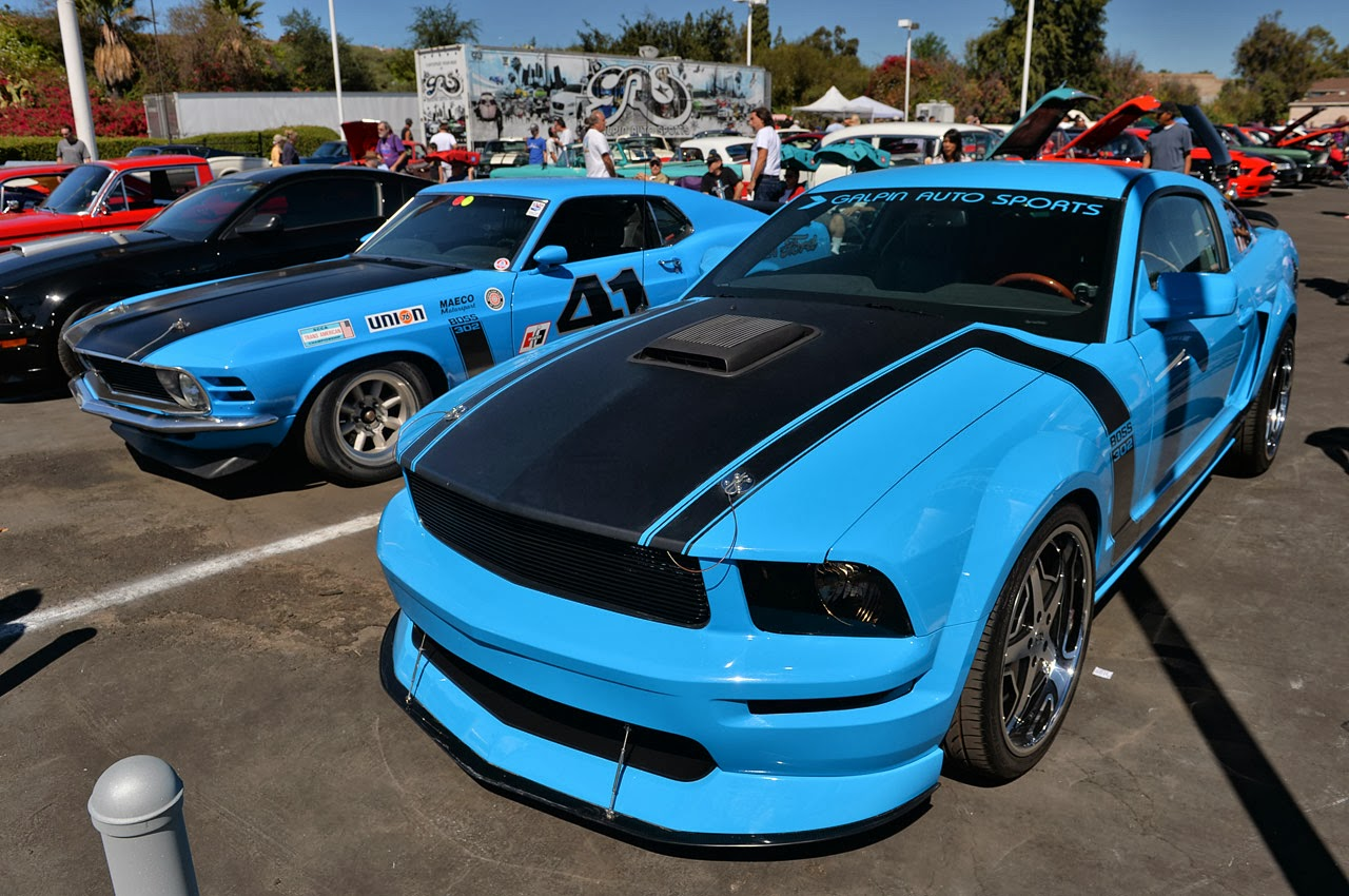 Galpin Ford S Car Show Celebrates 2013 Mustang News