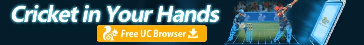 uc browser cricket