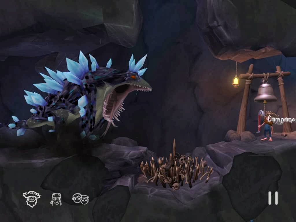 Jugando a The Cave