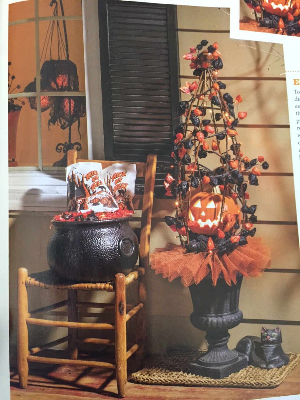 vintage halloween collector country sampler 39 s 2015 autumn