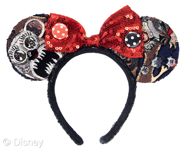 Couture Minnie Ears in LOVE Magazine