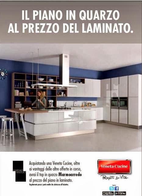 Veneta Cucine Domus arredi : Piano in quarzo al prezzo del ...
