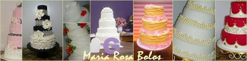 Maria Rosa Bolos de Casamento