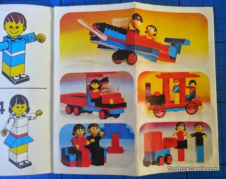 LEGO Family Instruction booklet set 200