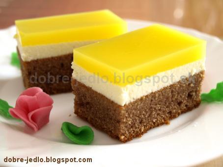 Tvarohový koláč so želatínou - recepty