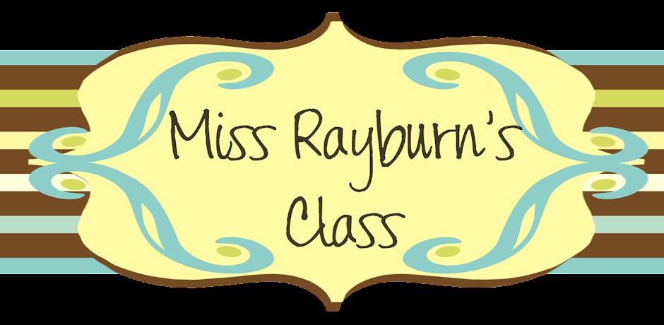 Miss Rayburn's Class