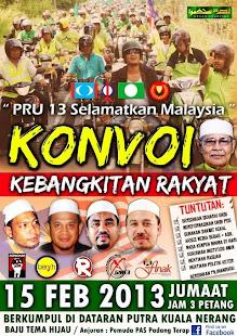 PRU13 SELAMATKAN MALAYSIA KONVOI BERMOTORSIKAL.