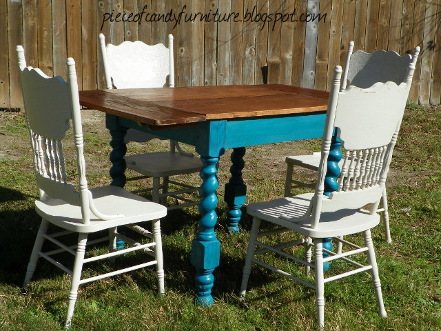 Rustic Kitchen or Patio Table