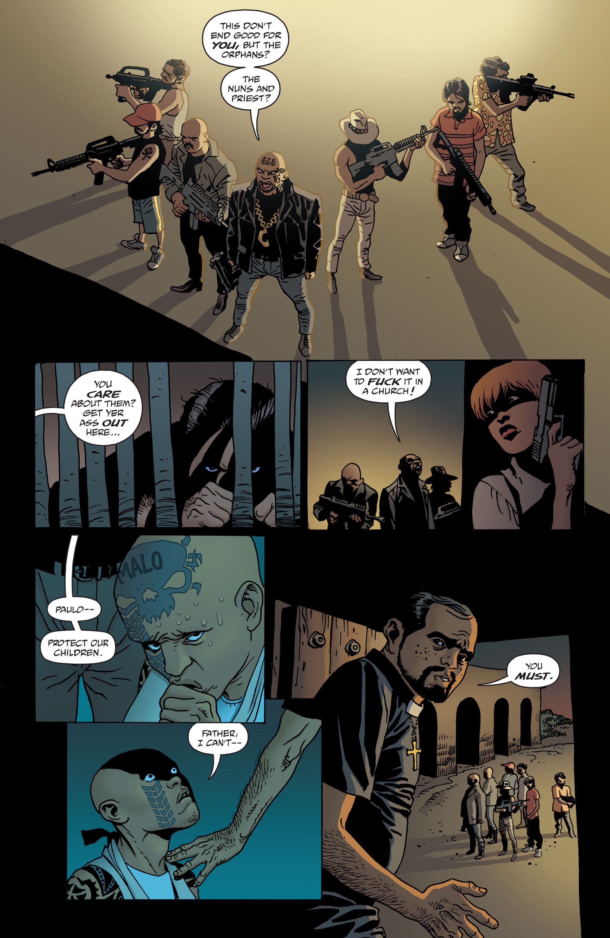 100 Bullets: Brother Lono Full Page 132