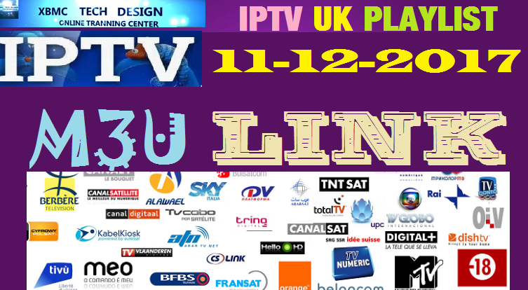 Add M3u Link 11 12 2017 Uk Channel To Kodi Android Vlc Or