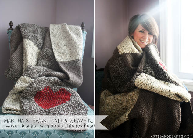 Artisan Des Arts Martha Stewart Knit And Loom Kit Review And Giveaway