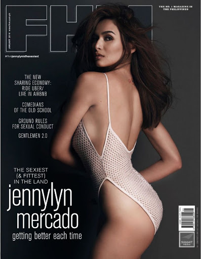 Jennylyn Mercado hot photo for FHM Philippines Magazine January 2016