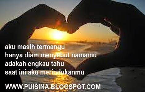 Puisi Kekasih Pagi Ini Aku Katakan Cinta
