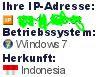 Cara Melihat Ip address, Os, Lokasi, Dan Browser Pengunjung Blog