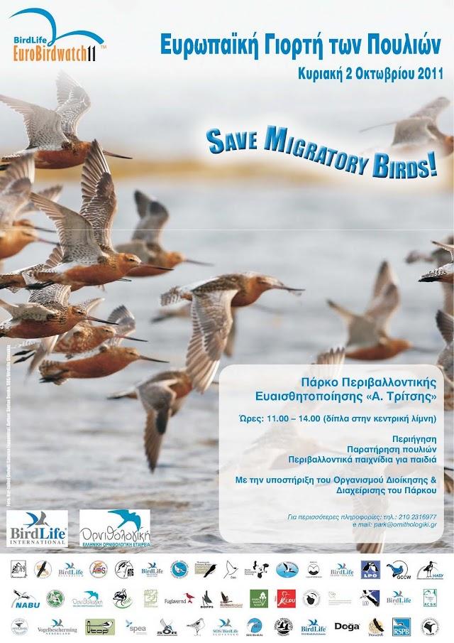 Πανευρωπαϊκή Γιορτή των Πουλιών 2011