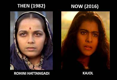 Kajol can play Kasturba