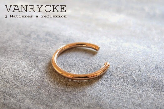 Bague diamants or rose Vanrycke bijoux or 18 carats