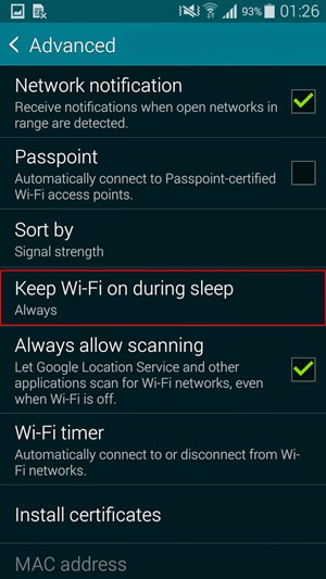 how to change wifi hostname of your android device