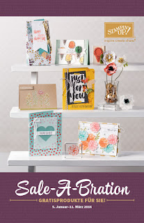 Sale-a-Bration, SAB, 2016, Stampin up, PDF, Katalog, Demo werden, Starterset