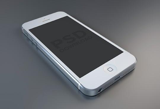 iPhone5 PSD