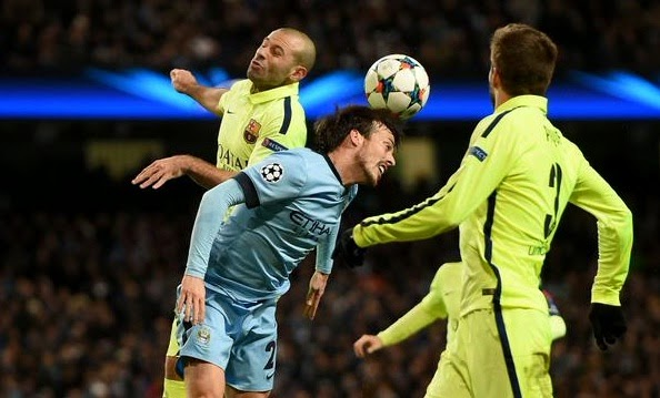 Manchester City 1-2 Barcelona Full Highlights