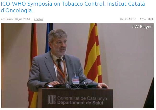 http://www.ub.edu/ubtv/video/symposia-on-tobacco-controly-institut-catala-doncologia