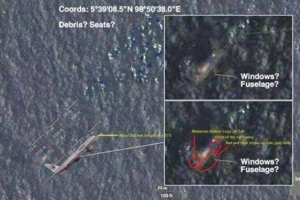 Objek terbesar yang dikesan terapung di Lautan Hindi berukuran 24 meter