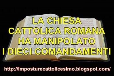 Eresie chiesa cattolica romana dicembre 2012 - Tavole dei dieci comandamenti ...