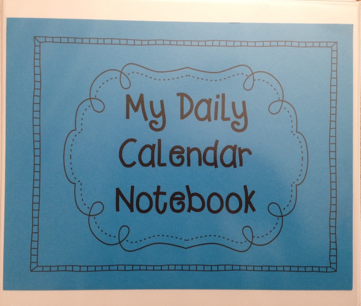 Calendar Math Binders Kindergarten : Time kindergarten calendar math