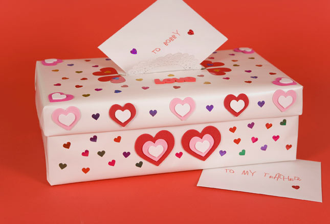 Incoming Searches: Valentine Boxes For School