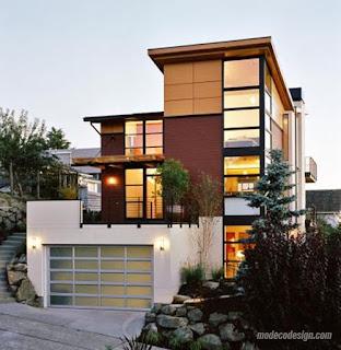 Fasad Rumah Minimalis 5
