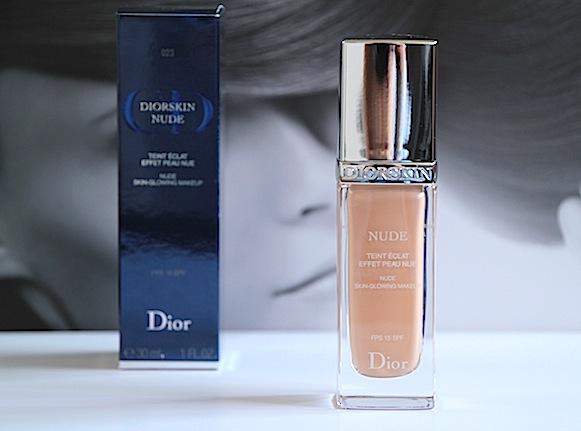 dior diorskin nude teint eclat effet peau nue 023 pêche test avis avant après essaie